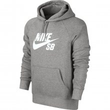 Nike Sb Icon Po Hoodie šedá XL