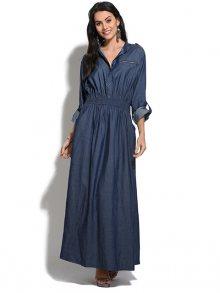 Pearly Blue Dámské šaty 6086 -HENORA JEAN FONCE