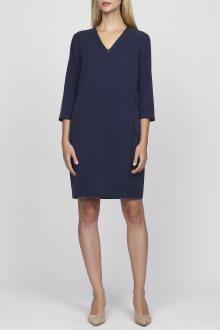 Šaty GANT O1. DRAPY TWILL DRESS