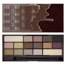 Makeup Revolution Zázračná paletka očních stínů Smrt čokoládou I LOVE MAKEUP (Wonder Palette Death By Chocolate) 22 g