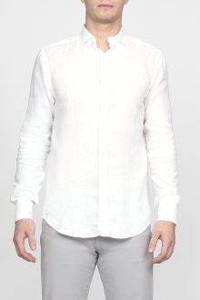 Košile GANT G2 LINEN SLIM CONC. SPREAD