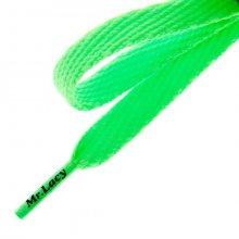 Mr. Lacy Tkaničky Flatties Neon Green Muži Doplňky Tkaničky 2000060002721 Muži Doplňky Tkaničky Beżowy ONE SIZE