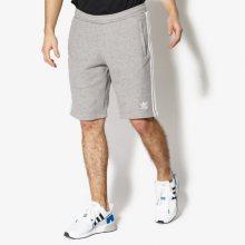 Adidas Šortky 3-Stripes Short Muži Oblečení Kraťasy Cy4570 Muži Oblečení Kraťasy Šedá US S