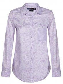 Giorgio Di Mare Dámská košile GI4605713_White/Purple\n\n
