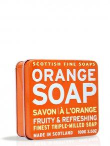 Scottish Fine Soaps Mýdlo v plechu - Pomeranč A01157, 100 g\n\n