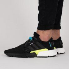 Boty - adidas Originals | ČERNÁ | 41 1/3 - Pánské boty sneakers adidas Originals POD-S3.1 AQ1059