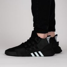 Boty - adidas Originals | ČERNÁ | 44 2/3 - Pánské boty sneakers adidas Originals Equipment Eqt Bask Adv CQ2991