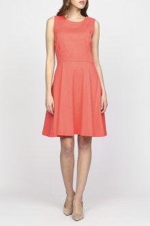 Šaty GANT O2. LINEN DRESS