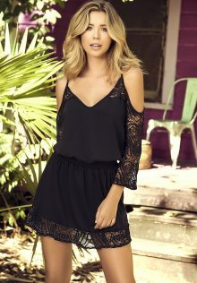 Dámské plážové šaty Mapalé 4999 M Černá