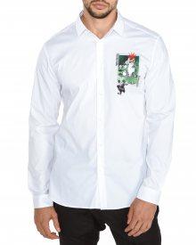 Košile Just Cavalli | Bílá | Pánské | XL
