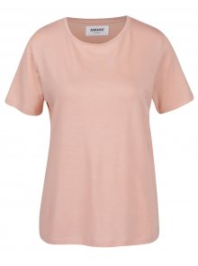 Růžové basic tričko VERO MODA Ava