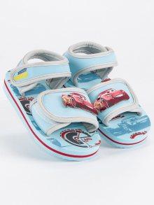 Dětské modré sandály na suchý zip