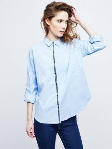 Moodo Dámská košile-2509 BLUE\n\n