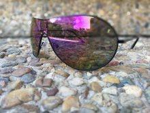 Černé sluneční brýle s tmavým sklem Viper® + obal na brýle zdarma