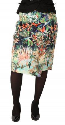 Dámská vzorovaná sukně Smashed Lemon