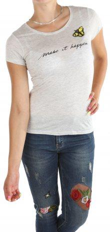 Dámské šedé tričko Cache Cache