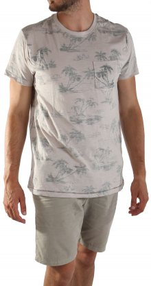 Pánské stylové triko s krátkým rukávem
