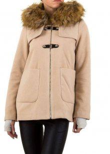 Dámský kabát s kožešinou Noemi Kent