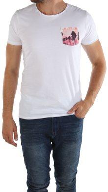 Pánské bílé tričko Sublevel