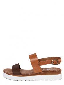 Julie Julie Dámské sandály 300_8248_TMORO_CUOIO\n\n