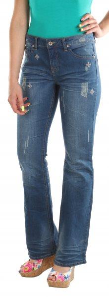 Dámské stylové jeans kalhoty Denim Delight
