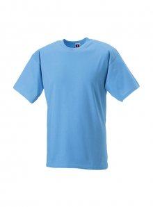 Lehké pánské tričko - Blankytně modrá S