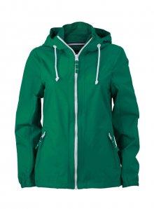 Nepromokavá bunda Sailing - Irská zelená M