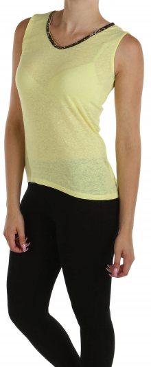 Dámské žluté tričko Cache Cache