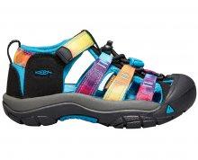 KEEN Dětské sandály Newport H2 Rainbow tie dye KIDS 25-26