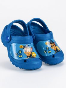 Dětské modré gumové nazouváky Tlapková Patrola
