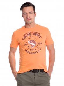 Chaps Tričko CMA54C0W22_ss15 M oranžová\n\n