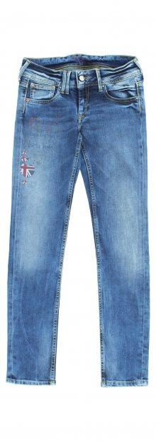 Jeans dětské Pepe Jeans   Modrá   Dívčí   16 let