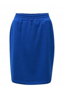 Modrá sukně se stahováním v pase Moss Copenhagen