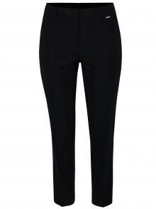 Černé rovné kalhoty Ulla Popken