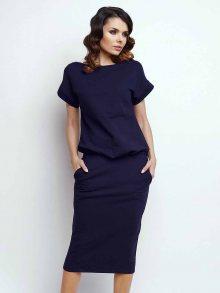 Naoko Dámské šaty AT50_NAVY