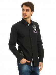 Galvanni Pánská košile SOCRATESS Black Multi\n\n