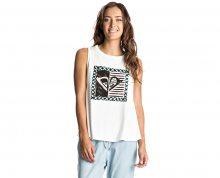 Roxy Dámské triko Aztec Generation Marshmallow ERJZT03807-WBT0 XL
