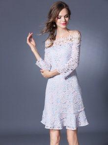 Kaimilan Dámské šaty QB171 Pink