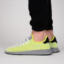Boty - adidas Originals   ZELENÝ   43 1/3 - Pánské boty sneakers adidas Originals Deerupt Runner B27779