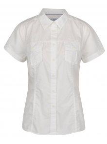 Krémová dámská košile s krátkým rukávem BUSHMAN Tees