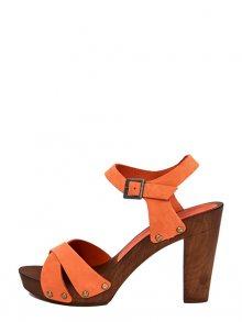 Marradini Dámské sandály na podpatku 574_210_NABUK_AIAX