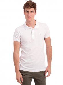 Polo Club Captain Horse Academy Pánské polo tričko 25562_BLANCO/WHITE