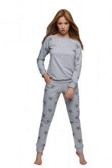Sensis Silver Night Dres Dámské pyžamo L  šedá