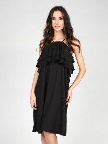 Poesse Dámské šaty PS16S P5013_BLACK