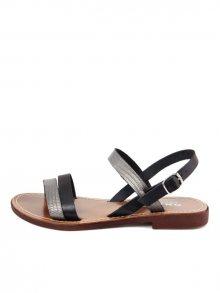 Onako Dámské sandály SIMONA1_VAP_VAC_NERO_CFUCILE