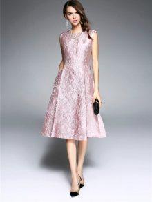 Kaimilan Dámské šaty QB623 Pink\n\n