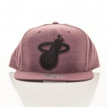Snapback Cut Heather Nba Miami Heat růžová Standardní