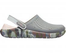 Crocs Pantofle LiteRide Graphic Clog Char/Camo 205359-0EI 36-37