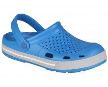 Coqui Pánské pantofle Lindo 6403 Sea Blue/Khaki Grey 102056 41