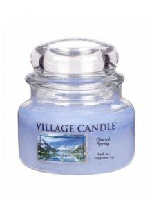 Village Candle Vonná svíčka ve skle, Ledovcový vánek - Glacial Spring, 11oz\n\n